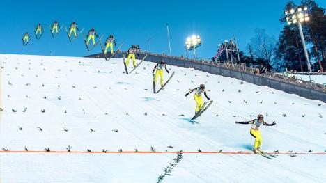 Anatomy of a Ski Jump